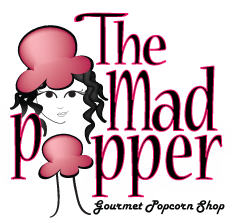 The Mad Popper Logo